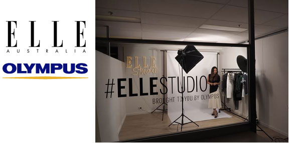 OLYMPUS partners with Elle for studio launch