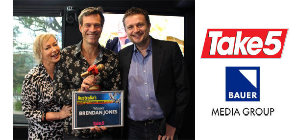 Brendan 'JONESY' Jones named Australia's hottest radio hunk!
