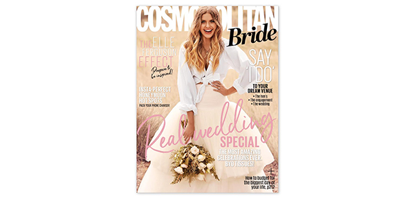 Cosmo Bride features Elle Ferguson