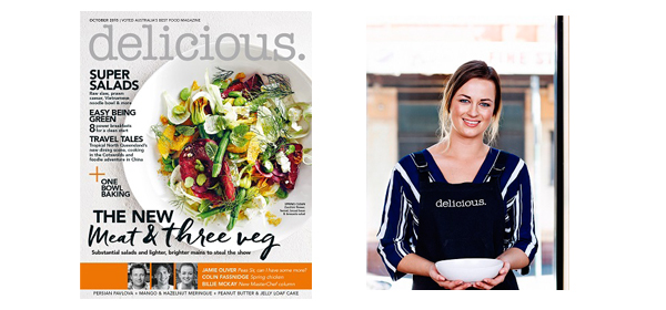 2015 MasterChef Australia winner  Billie McKay joins delicious.