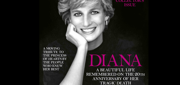 Princess Diana anniversary edition