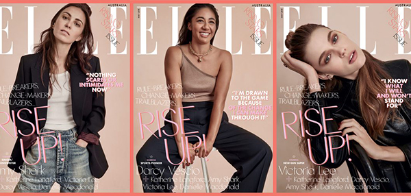 Elle print on demand covers