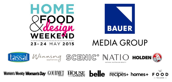 Partners announced for Home, Food & Design Weekend