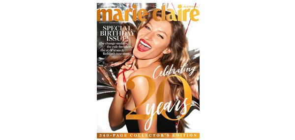 marie claire Celebrates 20 Years