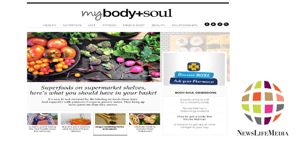 NewsLifeMedia unveils all-new body+soul website