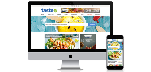 News DNA unveil the new taste.com.au