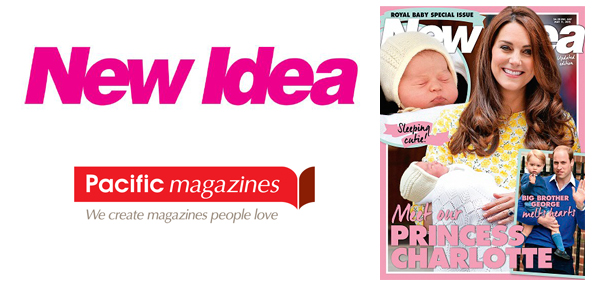 NEW IDEA SPECIAL ISSUE FOR PRINCESS CHARLOTTE'S BIRTH
