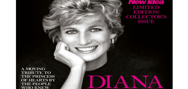 New Idea releases Princess Diana 20th anniversary limited Ed. Collector's issue