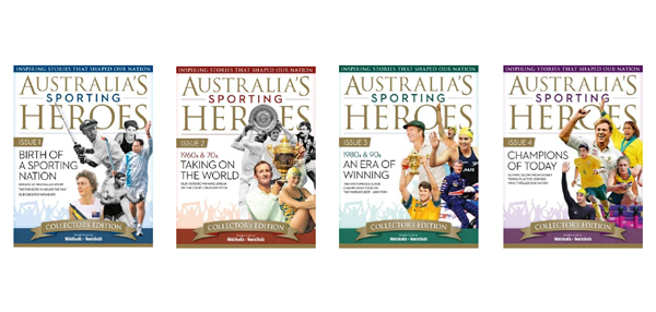 Pacific launches 4 part series: Australia's Sporting Heroes