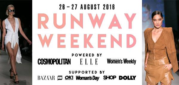 MYER headline sponsor of Runway Weekend