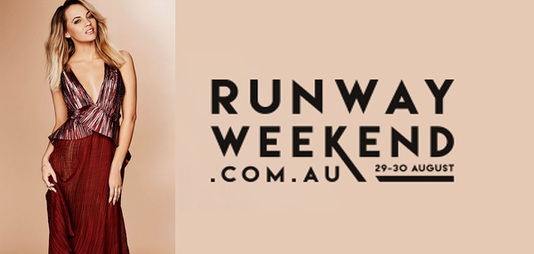 Samantha Jade announced as ambassador for Runway Weekend