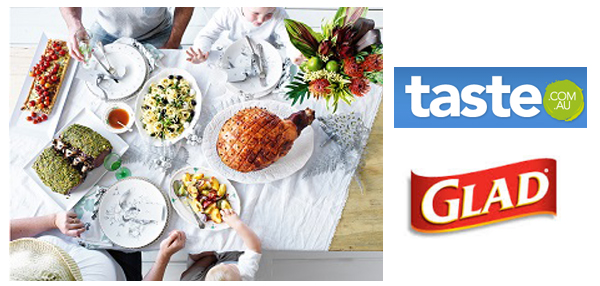 Taste.com.au & GLAD team up to make Christmas easier