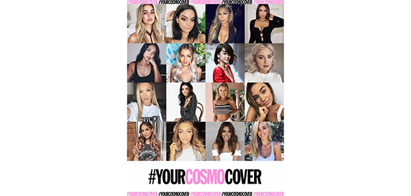 Choose your own Cosmo cover