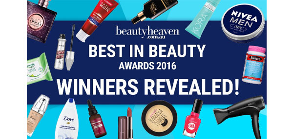Australia's favourite beauty products revealed: Best in Beauty 2016