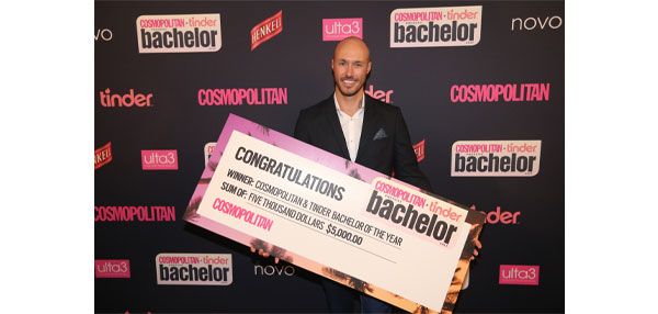 Cosmopolitan X Tinder Bachelor of the Year Winner Announced
