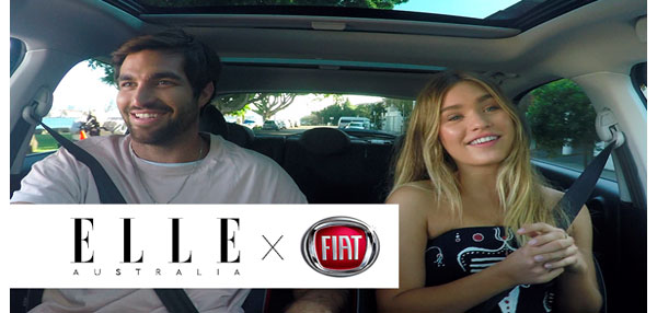 Fiat exclusively partners with Elle for site relaunch