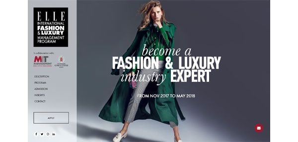 ELLE International launches fashion and luxury management program