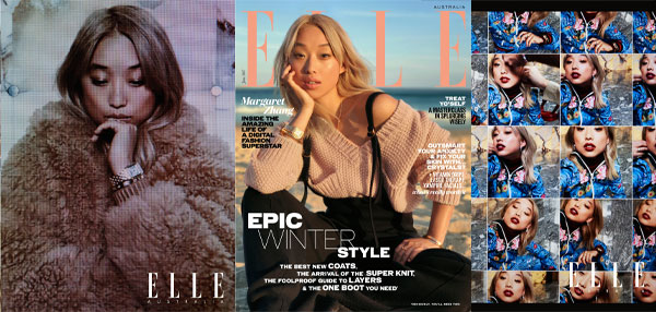 ELLE  shoots cover & editorial on iPhone 7 Plus in Australian first