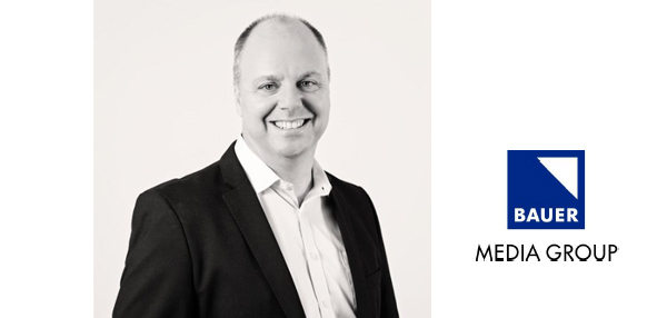 Bauer Media appoints Warwick Taylor as Director of Media Solutions