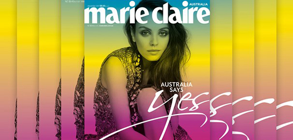 marie claire marriage equality cover