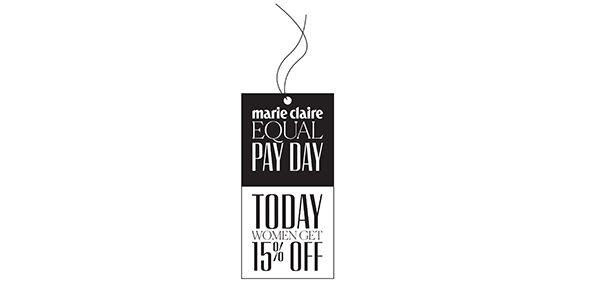 marie claire equal pay day