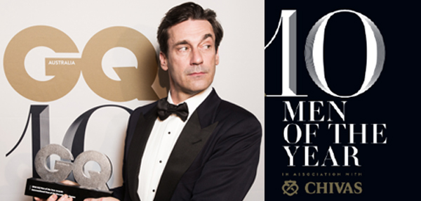 GQ celebrates ten year with GQMOTY Awards with Chivas