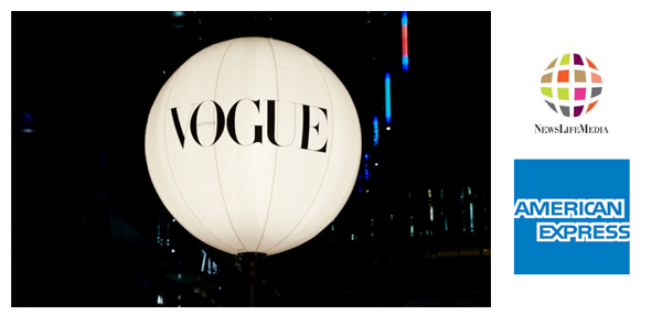 Vogue Fashion's Night Out partnership with American Express