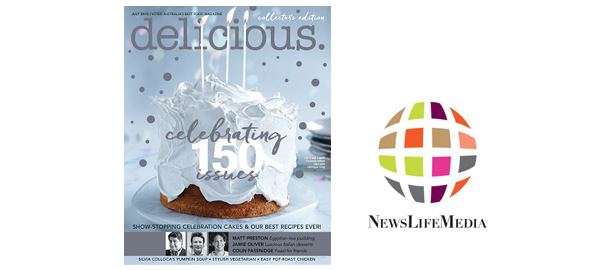 delicious. celebrating 150 issues Launches interactive digital edition